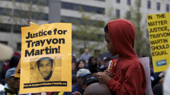 This Washington rally last month was just one of many around the country protesting the Trayvon Martin killing.