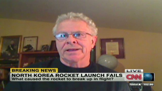 What went wrong with the rocket?