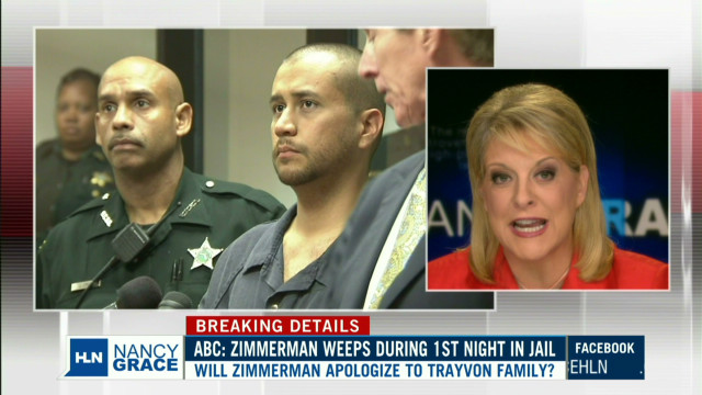 Was George Zimmerman weeping in jail?