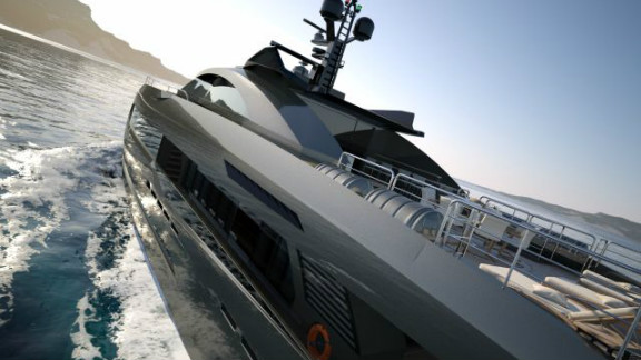 There are four cabins aboard the Columbus Sport 130' Hybrid providing luxury accommodation for a maximum of eight guests.