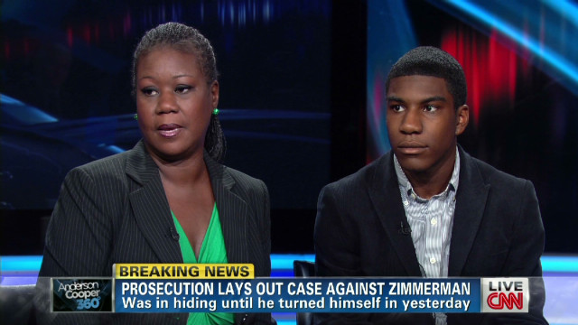 Trayvon's mom: No hate for Zimmerman