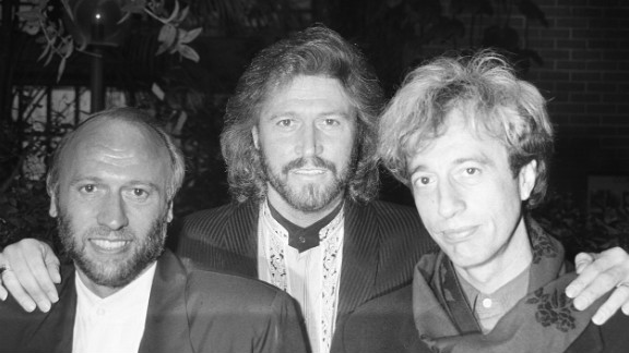 Maurice, Barry and Robin in 1989.