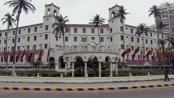 Secret Service and military personnel allegedly brought prostitutes to this hotel in Cartagena, Colombia, while on a mission.