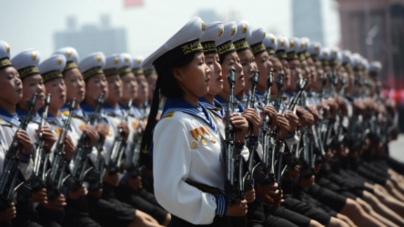 Female members of North Korea