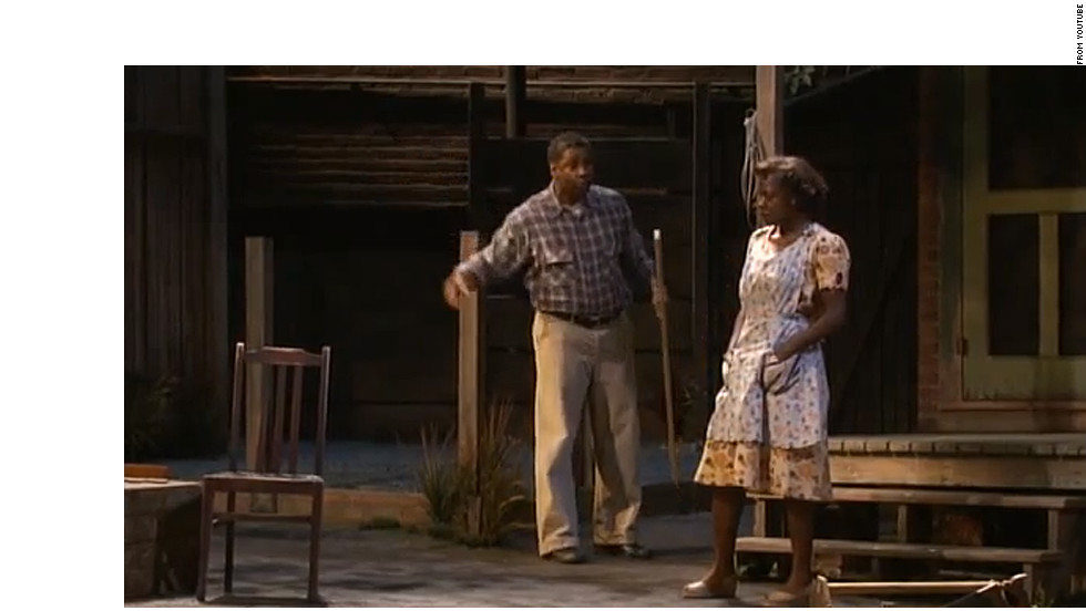 "Denzel Washington and Viola Davis starred in the 2010 Broadway revival of August Wilson's 1983 play, ""Fences."""