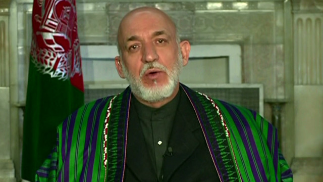 Karzai on Kandahar massacre