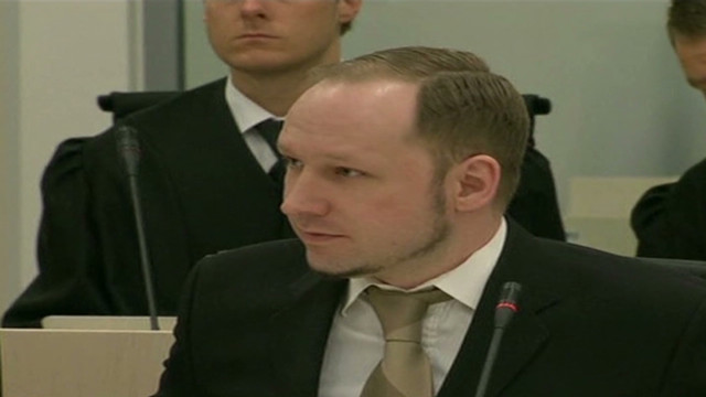 Trial under way for Norway murder suspect