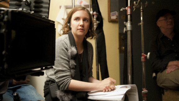 """Lena Dunham and her HBO series """"Girls"""" made the former indie-film darling a talked-about star."""