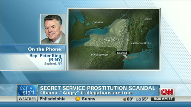 Rep. Peter King on the Secret Service