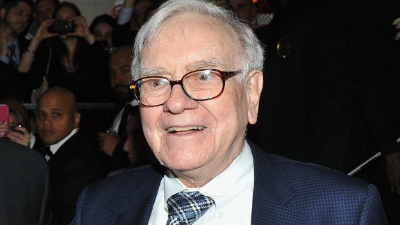 """""""Women should never forget that it is common for powerful and seemingly self-assured males to have more than a bit of the Wizard of Oz in them. Pull the curtain aside, and you'll often discover they are not supermen after all. (Just ask their wives!)"""" wrote Warren Buffett in a Fortune op-ed in May."""