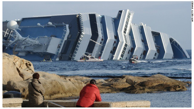At least 30 people were killed in the January Costa Concordia accident.
