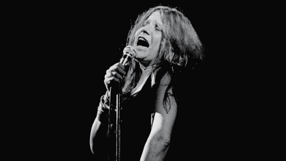 Singer-songwriter Janis Joplin, who was known for her ability to work a crowd, died in 1970 at age 27.