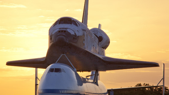 iReporter Jon Rosiska took this shot at Kennedy Space Center in Cape Canaveral, Florida, on Tuesday.