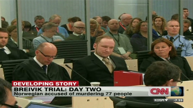 Mass murder suspect defends actions