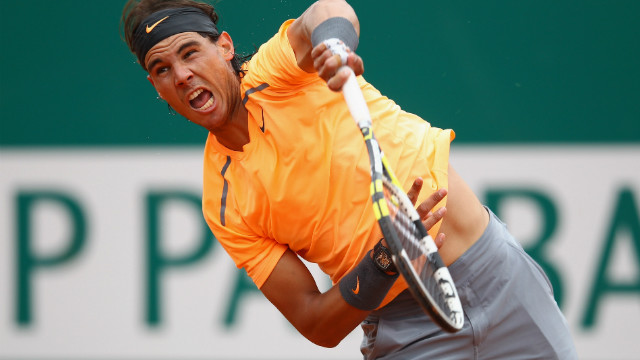 Nadal breezed in to the second round of the Monte Carlo Masters