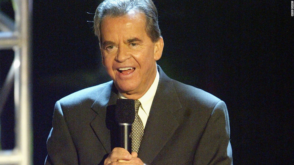 "Clark speaks at the ""Motown 45"" Anniversary Celebration in Los Angeles in 2004."