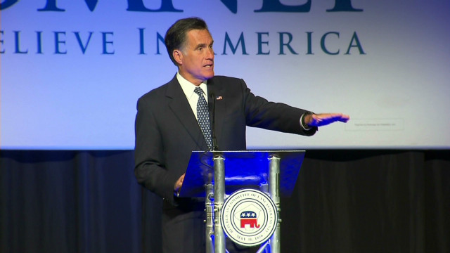 Romney: 'I represent a different path'