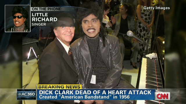 Legendary singers on Dick Clark's legacy