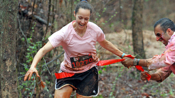 """If you're the type of person who only runs when being chased, <a href=""""http://runforyourlives.com/"""" target=""""_blank"""" target=""""_blank"""">Run for Your Lives</a> is your race. Volunteers dressed as zombies along the 5K course try to steal flags from your belt. If you make it to the end with at least one flag, you're alive and eligible for prizes. If not, revel with the undead."""