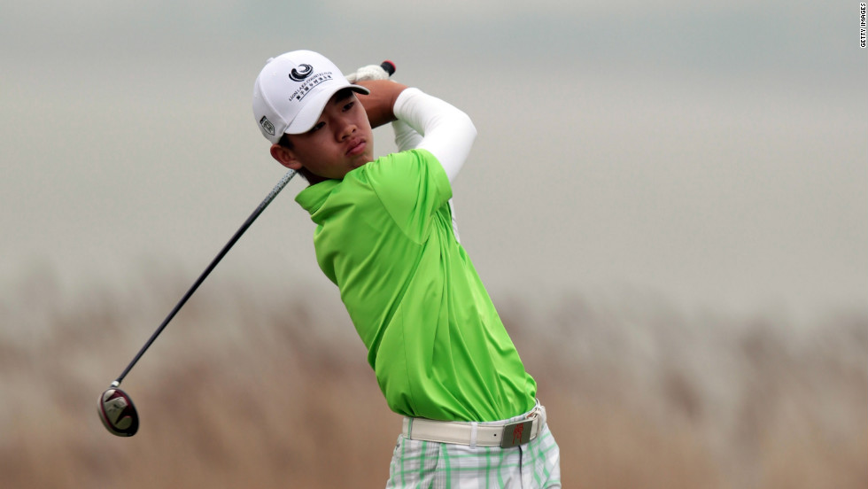 Tianlang Guan was the leading amateur at last year's Masters, finishing with 12 over par and in 58th place. The Chinese 14-year-old was the youngest low amateur in the  tournament's 77 years.