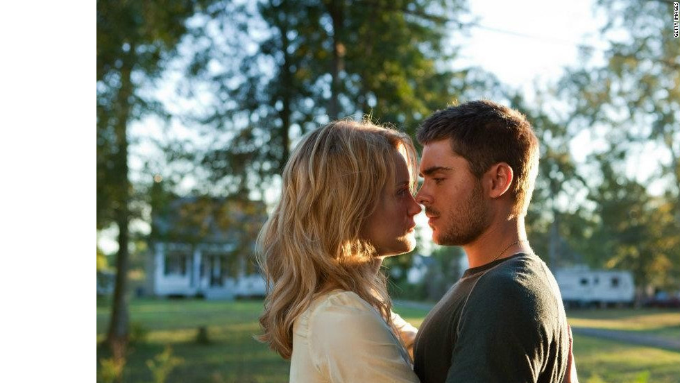 """The Paperboy"" is an atrocious movie -- in part because 24-year-old Zac Efron is too old to play a virgin teen. But Efron is even less convincing as a Marine just back from three tours of Iraq in this sappy, soft-in-the-head Nicholas Sparks romance, a non-story that shies away from any potential excitement."