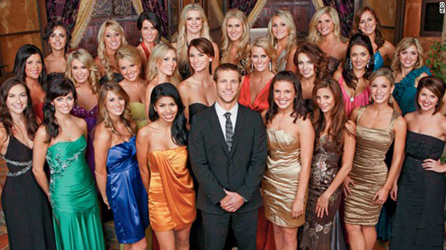 "After appearing on ""The Bachelorette,"" Jake Pavelka handed roses out on season 14 of ""The Bachelor."""