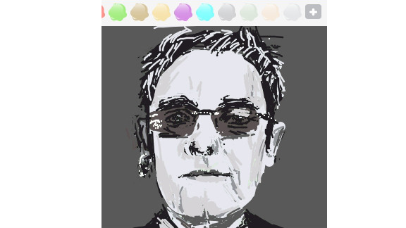 Tan Dawei Joel created this image of a famed British musician.
