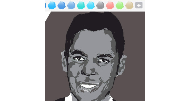 This respected actor, portrayed by prolific Draw Something user Tan Dawei Joel, is an Oscar and Tony Award winner.
