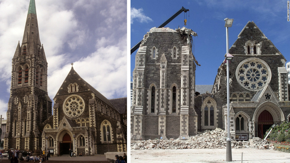 Quake Hit Christchurch To Build Temporary Cardboard
