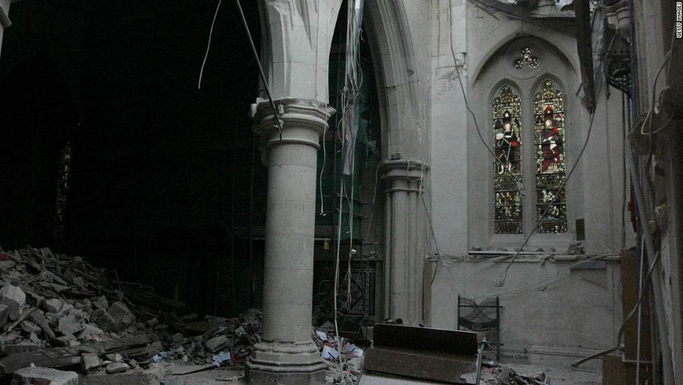 At the beginning of March, Bishop Victoria Mathews announced that the cathedral would be demolished.