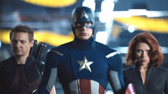 """A still from """"The Avengers."""""""