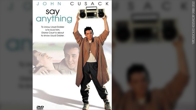 "John Cusack starred in 1989's ""Say Anything,"" which NBC is now considering turning into a TV series."