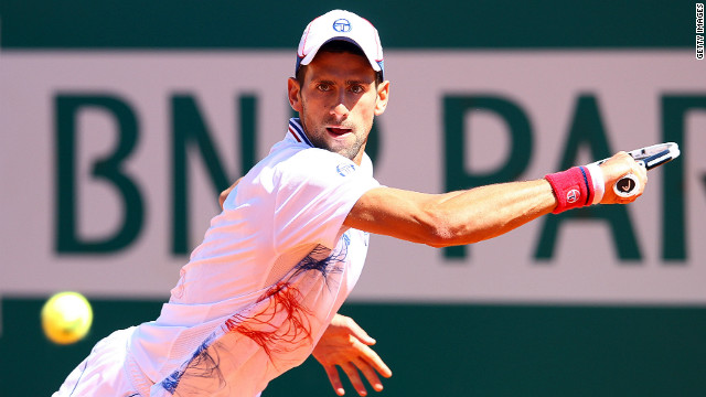 Novak Djokovic was in action in Monte Carlo the day after he learned of his grandfather's death