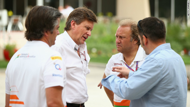 Incident 'destabilized' Force India team