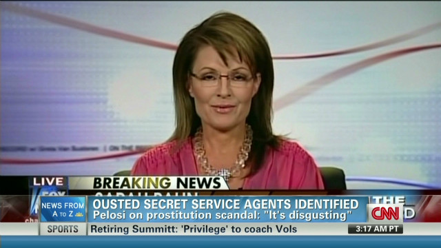Palin to Secret Service: You're fired