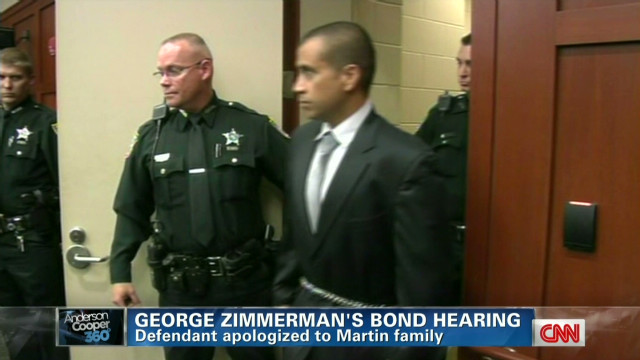 Zimmerman surprises with court apology
