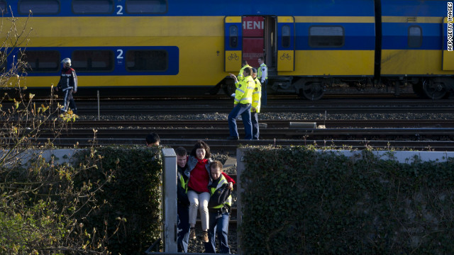 Netherlands train crash witness