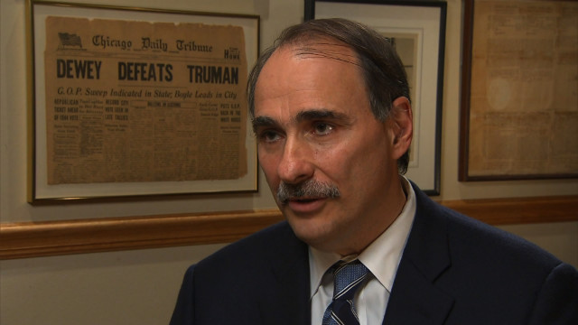 Axelrod: Obama's ballot line was mistake