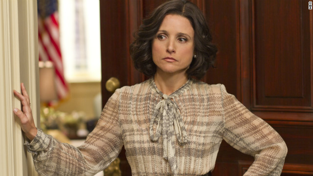 "Julia Louis-Dreyfus, the star of ""Veep."""