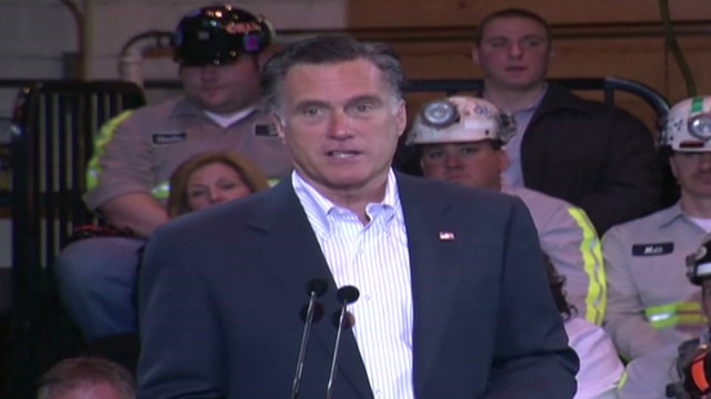 Romney attacks Obama on energy, unions