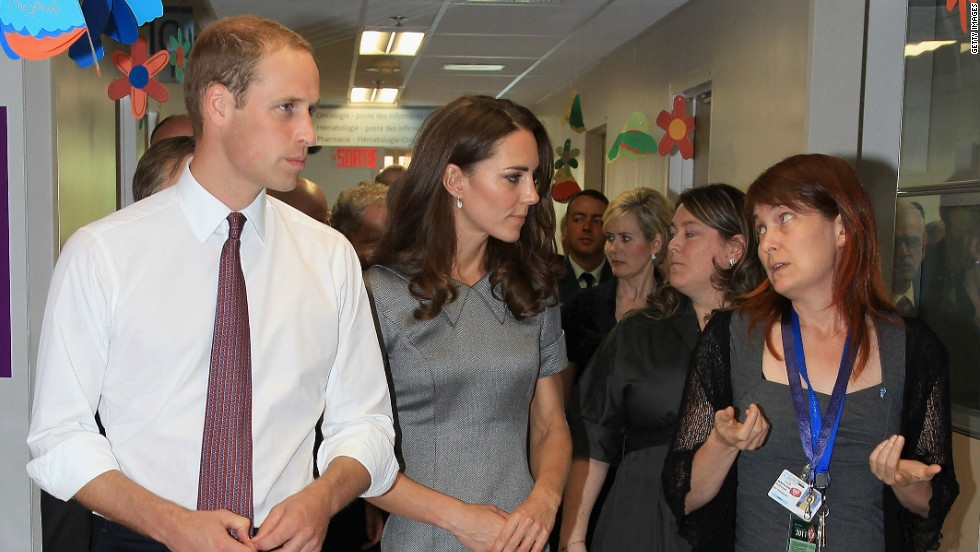 "<strong>Jackson:</strong> ""She always enjoys chatting to people and she gives people a great deal of time. Quite often you'll see Prince William has walked off ahead but she is left chatting with someone because she wants to keep talking to them."""
