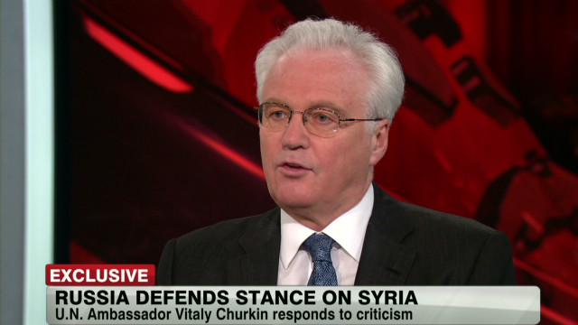 2012: Churkin defends Russia's stance on Syria