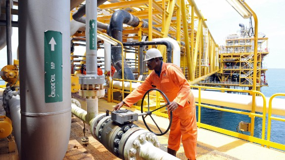 Recent reports state that the vast oil project off the coast of Nigeria is mired in investment delays related to the recent downturn in oil prices. The project, which began producing oil 10 years ago, is the country's first venture into deepwater exploration and has already yielded in excess of 500 million barrels of crude. (File image).