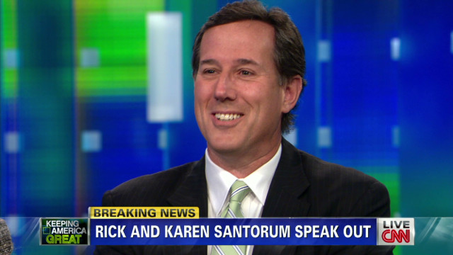 Rick Santorum on Mitt Romney