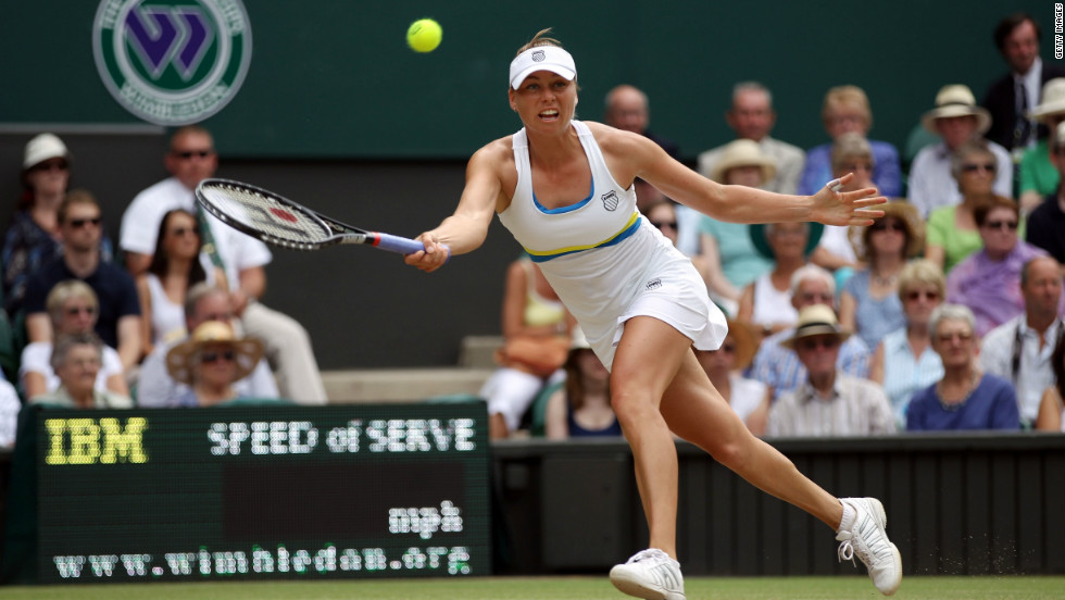 Russian third seed Vera Zvonareva suffered a shock third-round exit in last year's against Bulgaria's Tsvetana Pironkova. A  similar achievement this year would earn her £33,875 ($54,630) -- an increase of 13.1%.