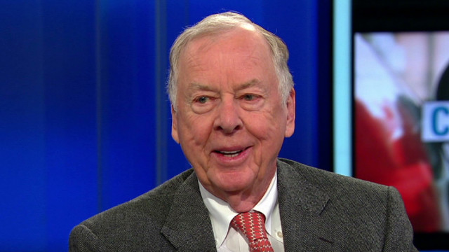 Pickens: 'Quit blaming' on gas prices