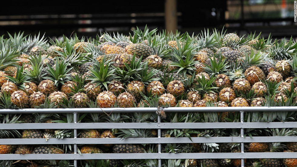 The Philippines has been transitioning from an agricultural economy to an industrial and service economy.  Still, the agricultural sector comprises 12.3% of GDP and employs a third of the population.  Some of its major agricultural exports are tropical fruits, such as pineapples. mangoes, bananas, and coconuts.  In Bukidnon province, Del Monte operates one of the world's largest pineapple plantations.