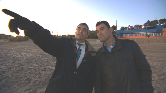 As adults  Antonio Barroso (left) Juan Luis Moreno set up  Anadir, an association for Spain