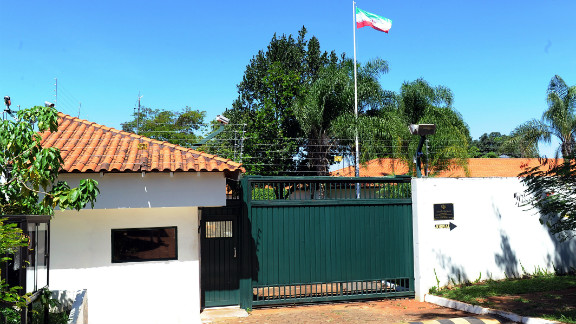 The diplomat is understood to have worked at Iran's Embassy in the Brazilian capital, Brasilia.
