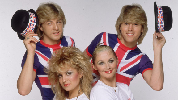 """Bucks Fizz won Eurovision for the UK in 1981 with """"Making Your Mind Up,"""" which sold four million copies and reached number one in nine countries."""